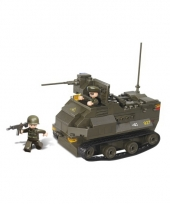 Sluban pantserwagen met geweer 28 5 x 21 2 cm