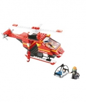 Sluban schaalmodel reddings helikopter 28 5 x 19 cm