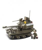 Sluban speelgoed legertank 28 5 x 23 7 cm