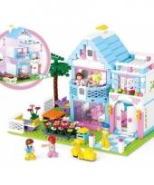 Sluban vrijstaand huis bouwsteentjes set