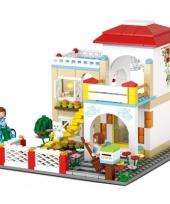 Sluban zomerhuis bouwsteentjes set