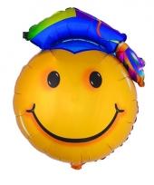Smiley ballon geslaagd 67 cm