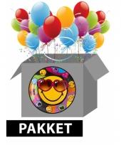 Smiley feestpakket