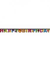 Smiley letterslinger happy birthday
