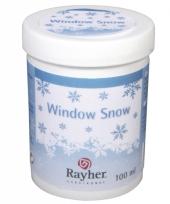 Sneeuwgel voor raamsjablonen