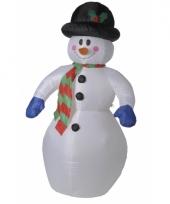 Sneeuwpop opblaasbaar 180 cm