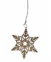 Sneeuwvlok hangers van metaal
