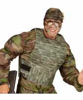 Soldaten verkleedvest camouflage