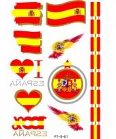 Spanje tattoos 3d