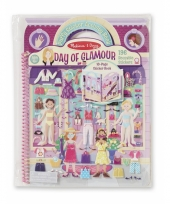 Speelboek met glamour girls thema
