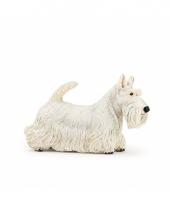 Speeldiertje witte schotse hond