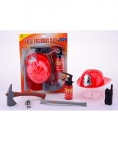 Speelgoed brandweer pakket