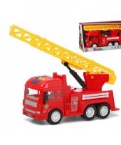 Speelgoed brandweerwagen 30 x 18 cm