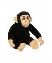 Speelgoed chimpansee knuffel 14 cm