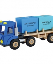 Speelgoed container vrachtwagen