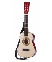 Speelgoed gitaar naturel