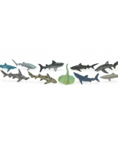 Speelgoed haaien 10 stuks