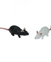 Speelgoed huisdier rat 11 cm