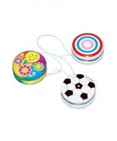 Speelgoed jojo met cirkels 3 5 cm