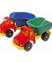 Speelgoed kiepauto met draaibare laadbak