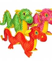 Speelgoed knuffel draak 55 cm