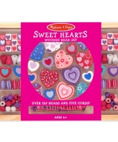 Speelgoed kralenset sweet hearts