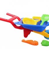 Speelgoed kruiwagentje 6 delig