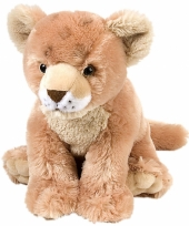 Speelgoed leeuw knuffel welp 30 cm