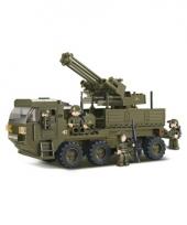 Speelgoed luchtafweergeschut