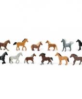 Speelgoed paarden 12 stuks