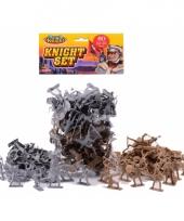 Speelgoed ridder set 60 delig
