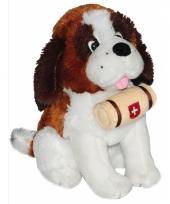 Speelgoed sint bernard knuffel 25 cm