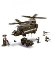 Speelgoed transporthelikopter
