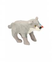Speelgoed wolven knuffel 25 cm