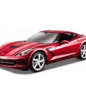 Speelgoedauto rode chevrolet corvette stringray 2014