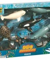 Speelset oceaan 8 delig