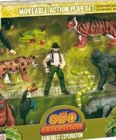 Speelset oerwoud 8 delig