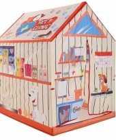 Speeltent speelhuis dierenkliniek 102 cm