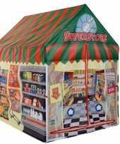Speeltent speelhuis supermarkt 102 cm