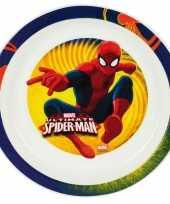 Spiderman ontbijtset bord