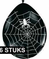 Spinnweb ballonnetjes 16 stuks