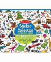 Sport stickers 500 stuks