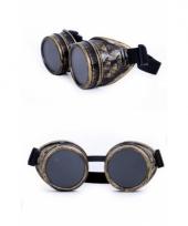Steampunk accessoires bruine bril