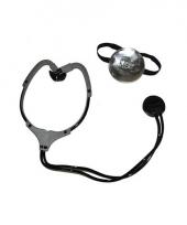Stethoscoop en hoofdband dokters feest set