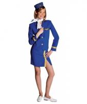 Stewardess kostuum voor meiden
