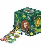 Sticker rol met jungle thema