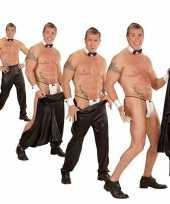 Stripper broek zwart voor heren