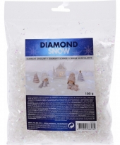 Strooi sneeuw parelmoer 100 gram