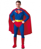 Superheld outfit heren superman