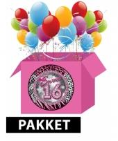 Sweet 16 verjaardagset